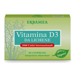 Vitamina D3 from Lichen - Tablets